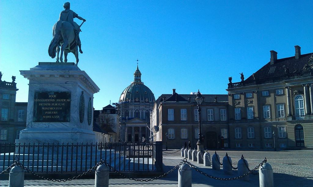 Amalienborg Palace - Royal Family